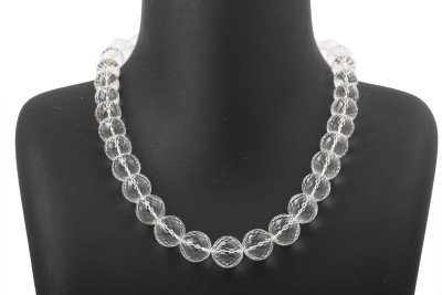 Meena Collections Crystal Cotton Dori Necklace