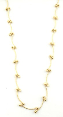 Seeyara twisted butterfiy 22K Yellow Gold Plated Brass Chain