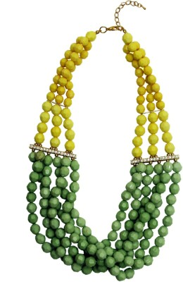 Rhea Drops Of Absinthe Plastic Necklace