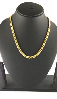 Italian Fashion very popular 22K Yellow Gold Plated Brass Chain