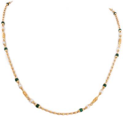 WHP Jewellers GMALD15028416 Precious Chain(Yellow Gold 22kt NA)