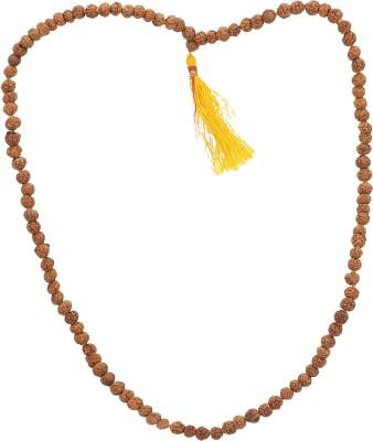 Bhagwati Enterprises Rudraksha Mala Wood Necklace at flipkart