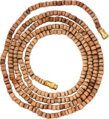 Gruvi Enterprises Tulsi Mala Wood Necklace