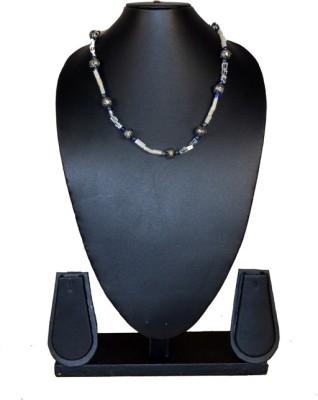 Needle Kraft Beads, Moonstone, Lapis Lazuli Stone Necklace