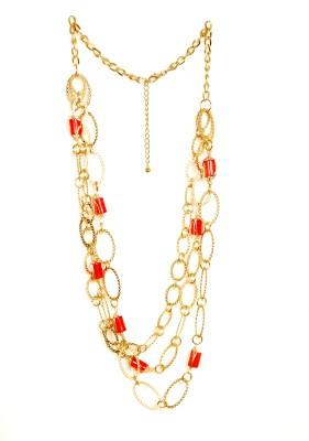 Rhea Besame Mucho Metal Necklace
