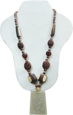 Decor Tattva Inc. Wood Necklace