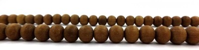 Sitare Natural Chandan Beads 9 mm Sandalwood 108 Beads Mala Wood Chain at flipkart