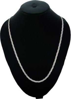 Bherumal Shamandas Amber Sterling Silver Chain
