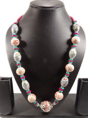 Shiv Kutumb Ceramic Necklace