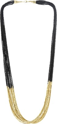Eastern Roots Dual Toned Metal Necklace