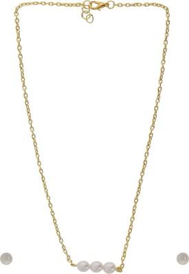Niara Brass Jewel Set