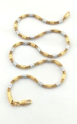 Seeyara golden charmi 22K Yellow Gold Plated Brass Chain