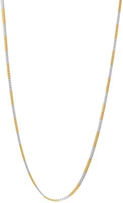 Seeyara 23K Yellow Gold Plated Brass Chain