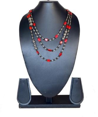 Needle Kraft Agate, Beads Stone Necklace