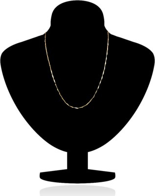 Spangel Fashion Naksi Style Yellow Gold Plated Nickel Chain