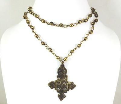 Bijoux 1940 Brass Necklace