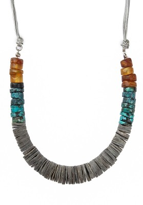 Magnifico Amber Shell Necklace