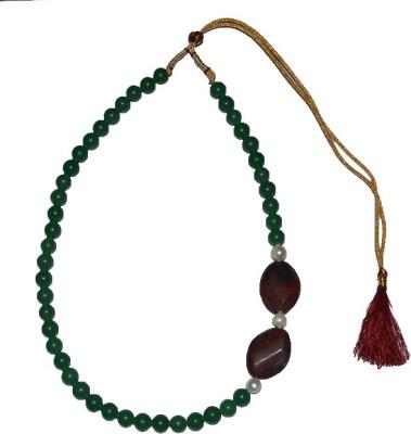 Bird In Blue Agate, Jade Stone Necklace