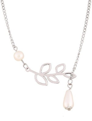 Amour Top European Fashion Lariat Pearl Alloy Chain