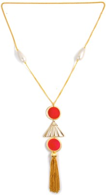 Zahra Jani ZJ Triangular Necklace Metal Chain