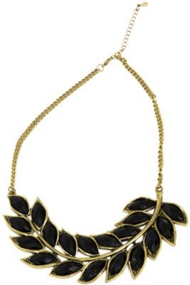 Turning Heads Brass Necklace