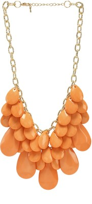 Imagica Coral Stone Necklace