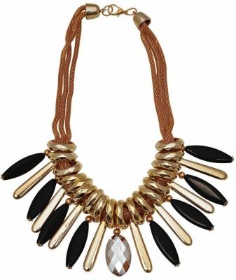 Hawai Golden Ring Alloy Necklace at flipkart