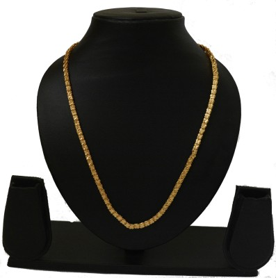 udhayam 22K Yellow Gold Plated Copper Chain