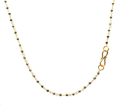 The V Collection CDN-2064 Yellow Gold Plated Brass Chain