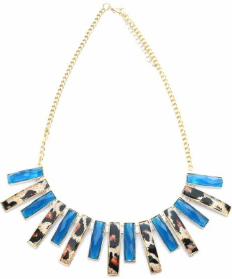 Foppish Mart Beads Metal Choker