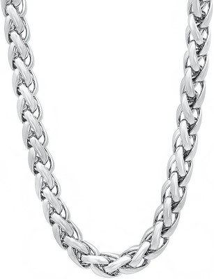 Anvi Jewellers 22K White Gold Plated Brass Chain