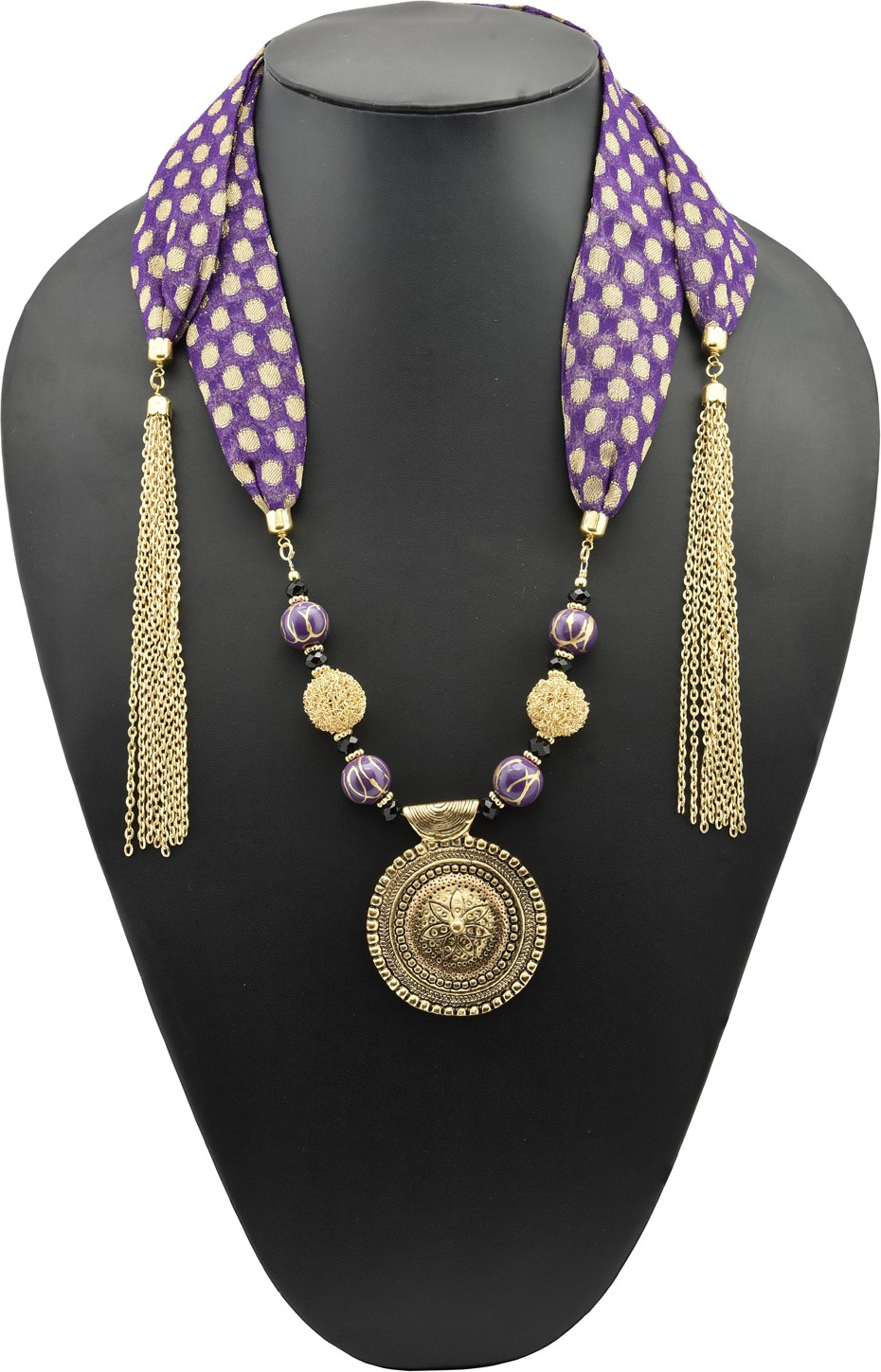 Deals - Delhi - Fabric Jewellery <br> Necklaces, Earrings and more<br> Category - jewellery<br> Business - Flipkart.com