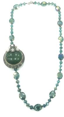 AMARA JEWELLERS Brass Plated Brass Necklace at flipkart