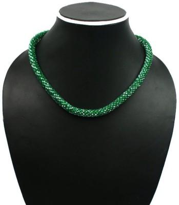 Joyeria Milan Snake Scales Resin Necklace