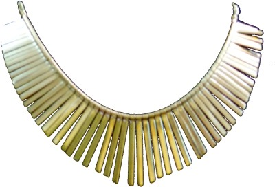 Minha Brass Plated Alloy Necklace
