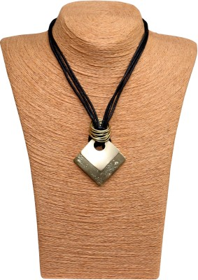 Outdazzle Designer Abstract 03 Metal Necklace