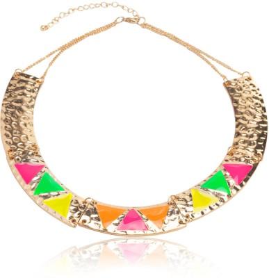 Sparkle Street Metal Necklace at flipkart