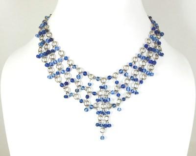 Bijoux 1940 Glass, Metal Necklace