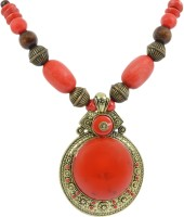 Reiki Crystal Products Reiki Crystal Products Feng Shui Beautiful Beaded Designer Fashion Jewellery Red Necklace for Women Resin Necklace best price on Flipkart @ Rs. 495