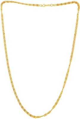 shreejicreations Rhodium Plated Copper Chain