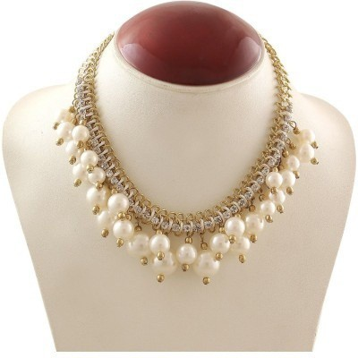 Minha Mother of Pearl Alloy, Mother of Pearl Necklace
