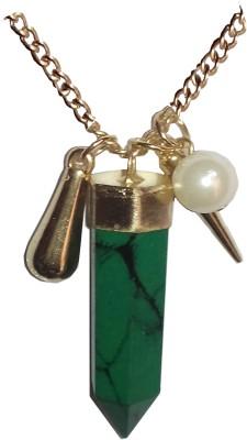 Gajraula Crafts Green Pencil Alloy Necklace