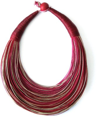 Magnifico Fabric Necklace