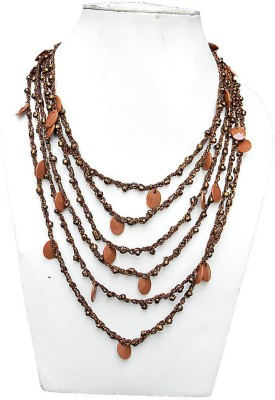 trendeela.com Twiny Twine Fabric Necklace at flipkart