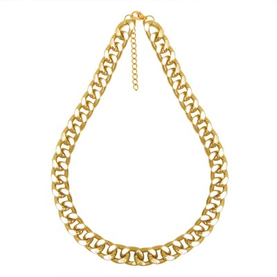 Simaya Fn 0454 Yellow Gold Plated Alloy Chain at flipkart