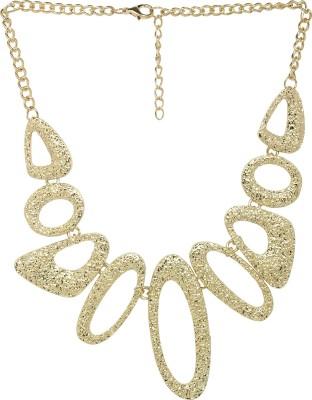 ToniQ ToniQ Gold Statement Metal Necklace
