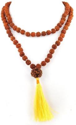 Foocat Good Health Seven Mukhi Rudraksha Wood Necklace at flipkart