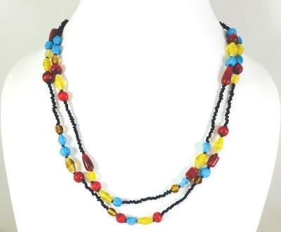 Bijoux 1940 Glass Necklace