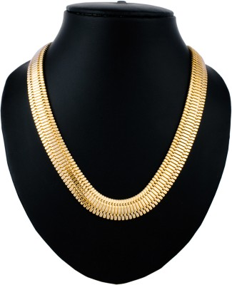 Anvi Jewellers Rose Gold Plated Brass Chain