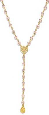 Dressberry Enamel Plated Gold Necklace at flipkart